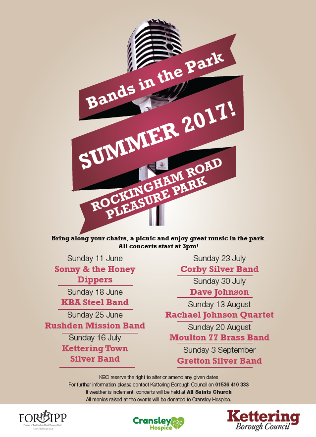 Bands in the Park Live Music Event