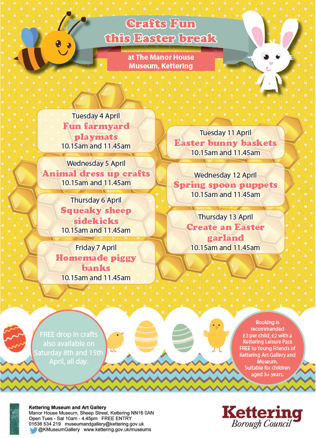 Easter crafts Museum Event