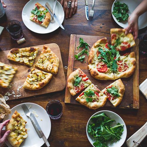 Pizza at Restaurants