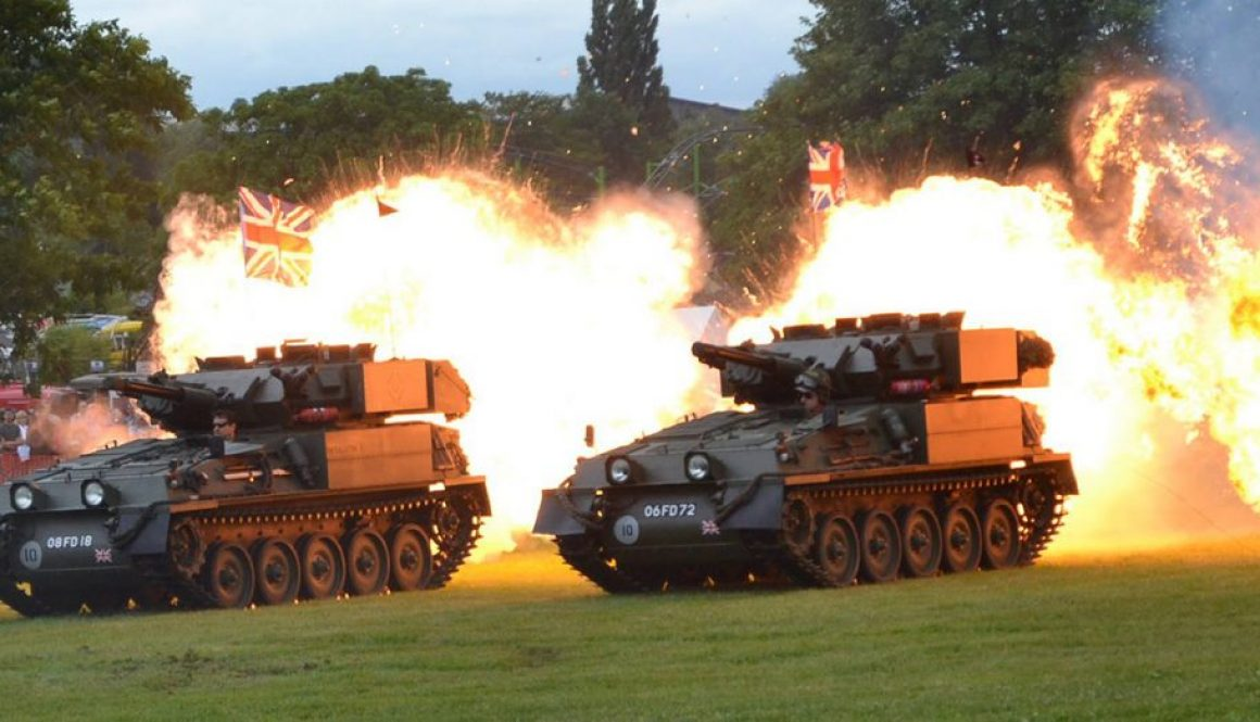 Wicksteed at War Event