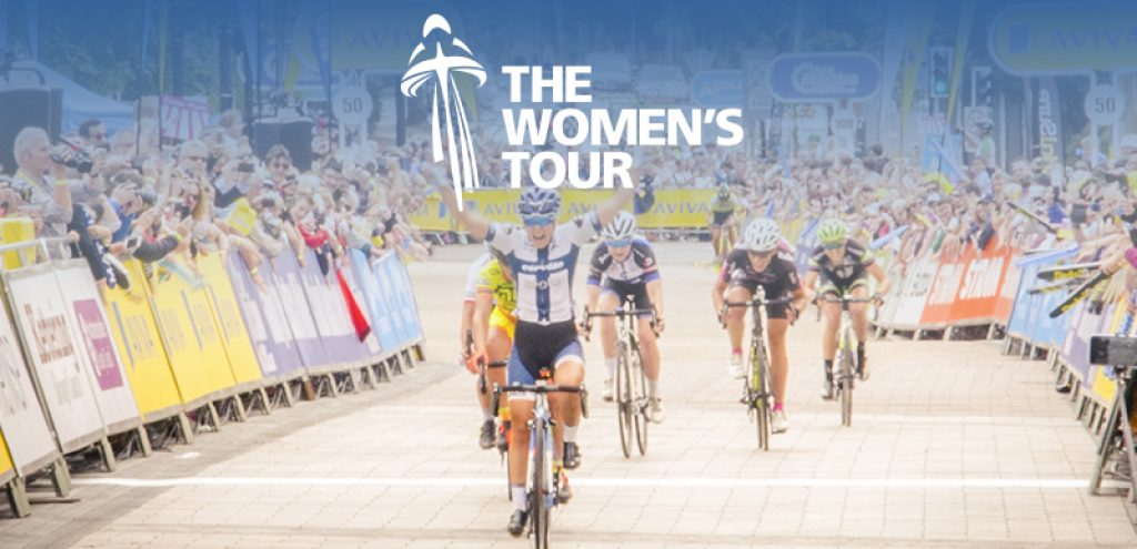 Women's Tour cyclists blog
