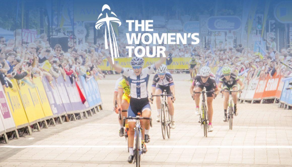 Women's Tour cyclists blog