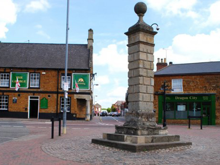 Desborough Town Centre things to do shopping