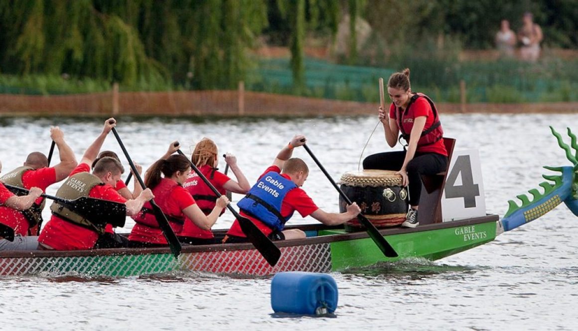 Dragon Boat Race Event Wicksteed Park