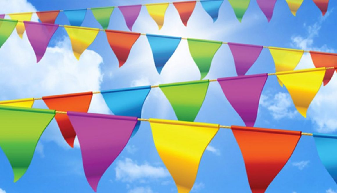 Summer Fete Bunting Event