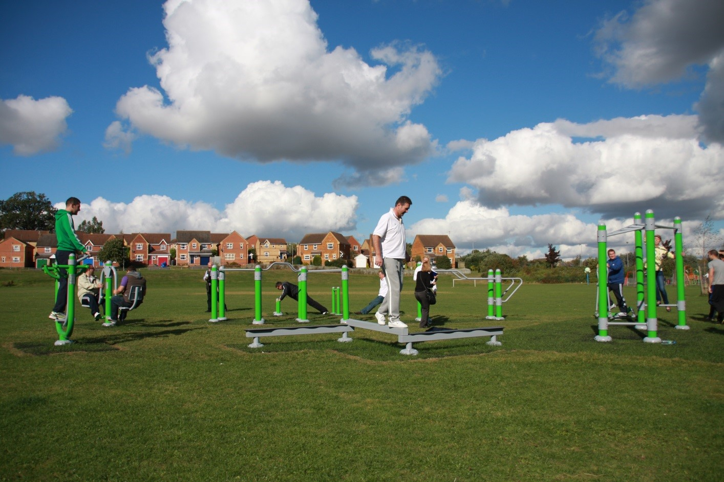 Outdoor Gym Stay Fit Blog
