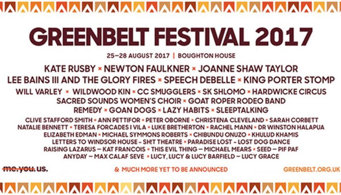 Greenbelt Festival Music Boughton House Event