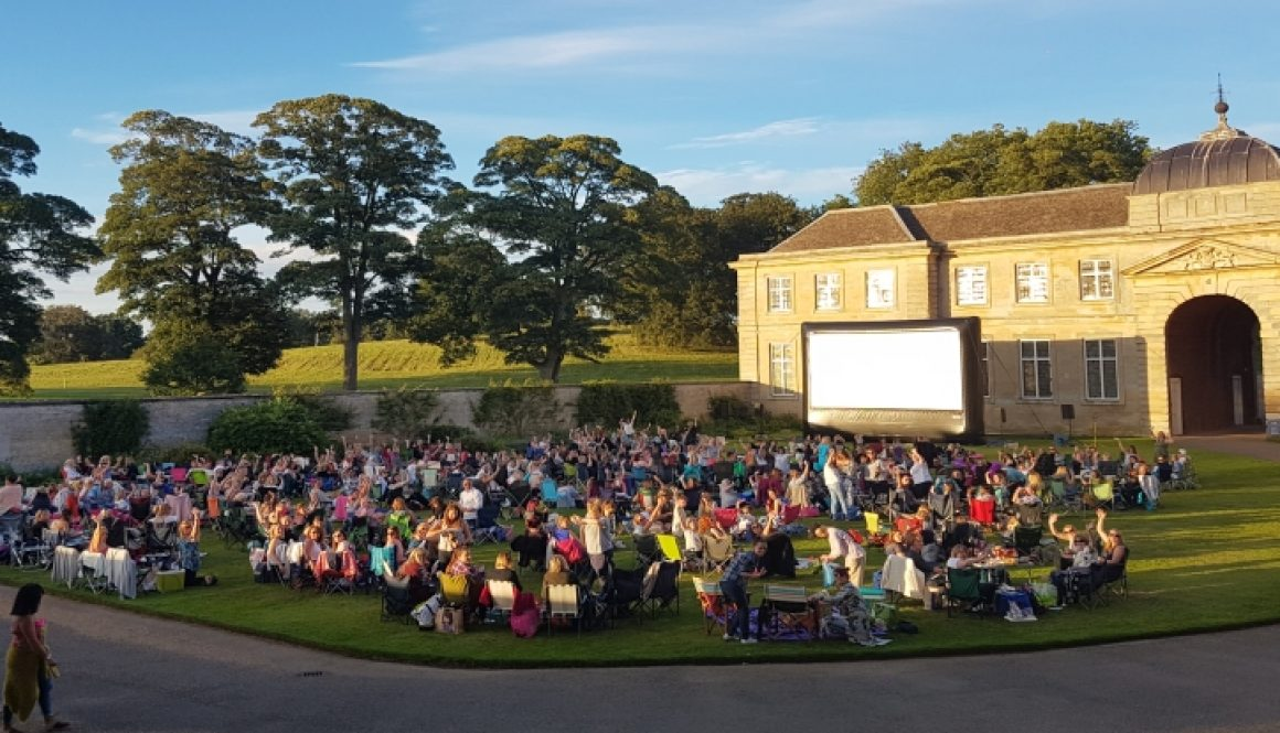 Boughton House, Outdoor, Cinema, Film, Big Screen,