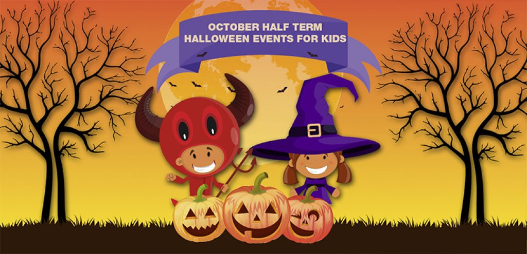 October Half Term Halloween Events for Kids kettering