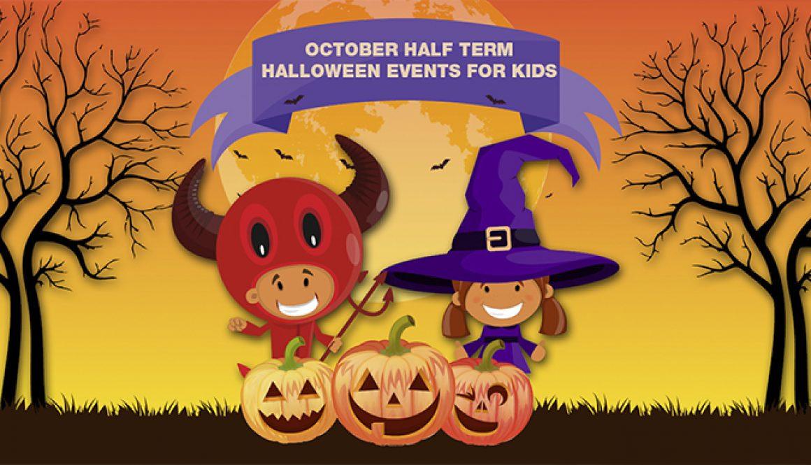 October Half Term Halloween Events for Kids kettering