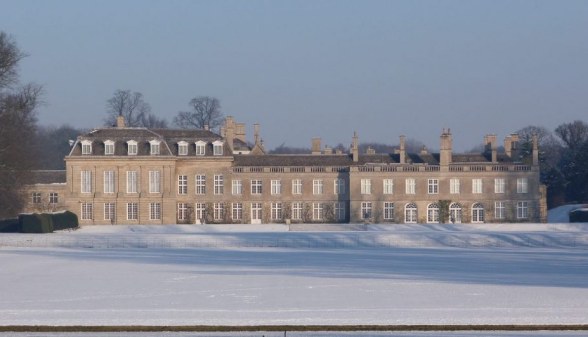 Winter at Boughton by Michael Crick