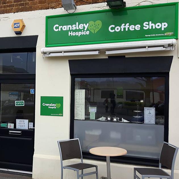 Cransley Hospice Cafe Kettering