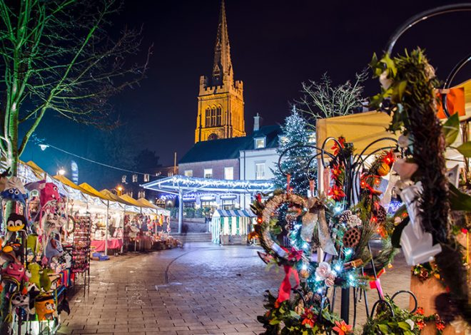 Christmas in Kettering Events #ChristmasinKettering Xmas Market Christmas Market