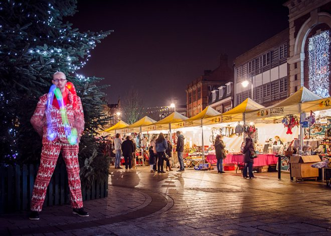 Christmas in Kettering Events #ChristmasinKettering Xmas Market