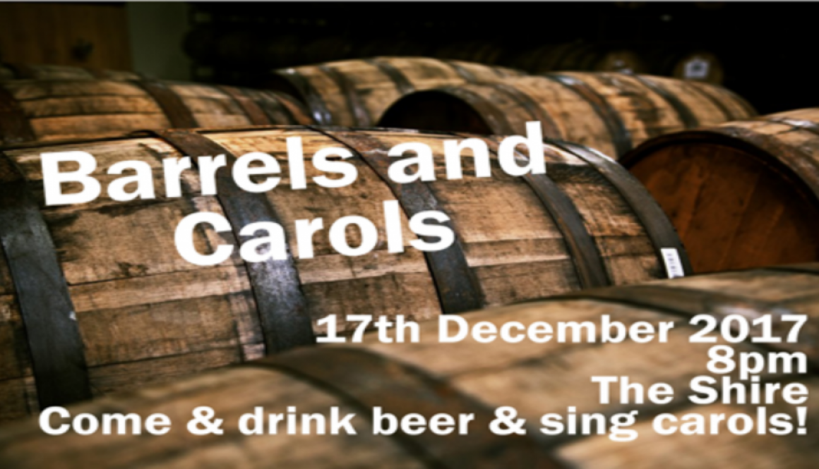 Barrels and Carols 2017