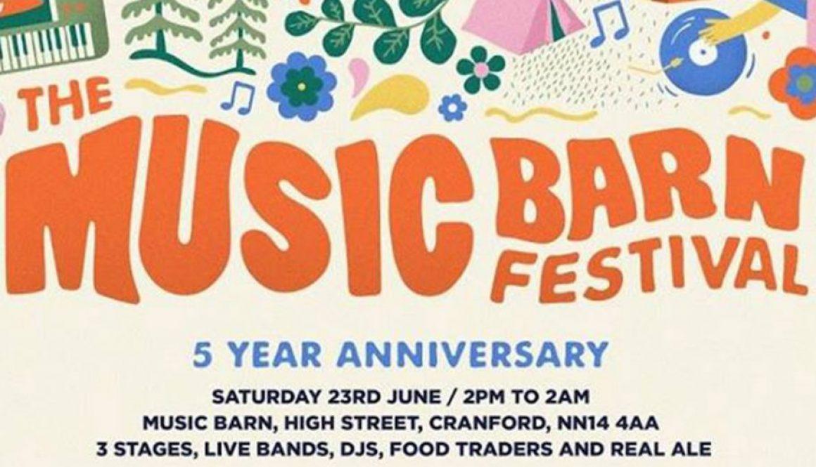 Music Barn Festival Event Cranford