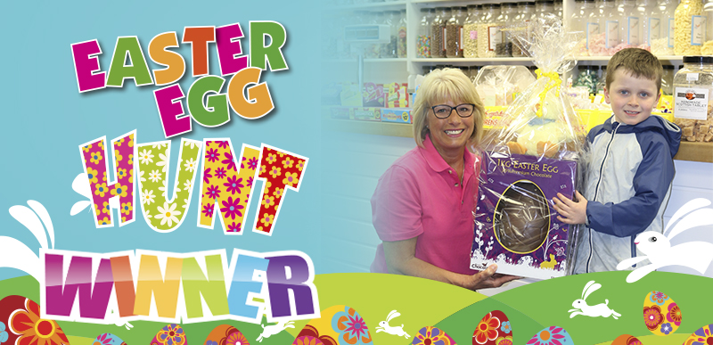 Kettering's Easter Egg Hunt Winner 2018