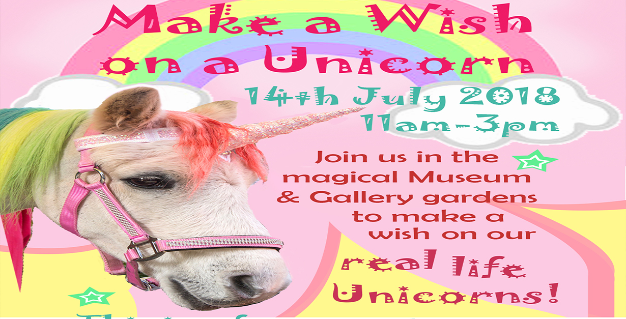 Wish on a Unicorn Fun Day in the Museum & Gallery Gardens - This Is