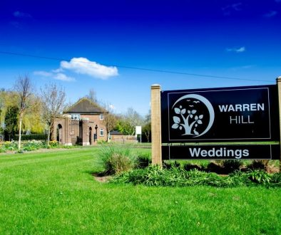 Warren Hill - Front Signage