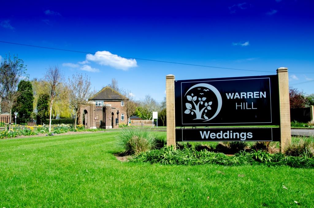 Warren Hill - Front Signage