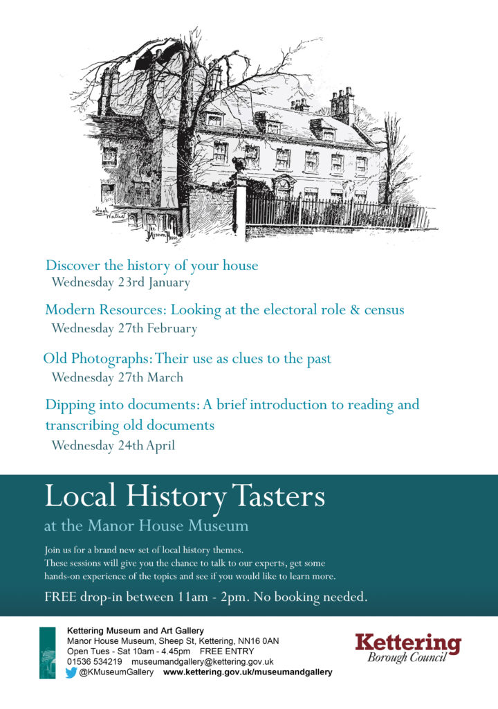 1_Local History Tasters Jan Apr 2019