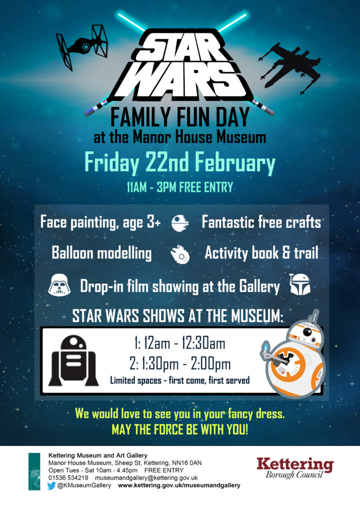 Star Wars Fun Day Archives - This Is Kettering - The official visitor  website for Kettering