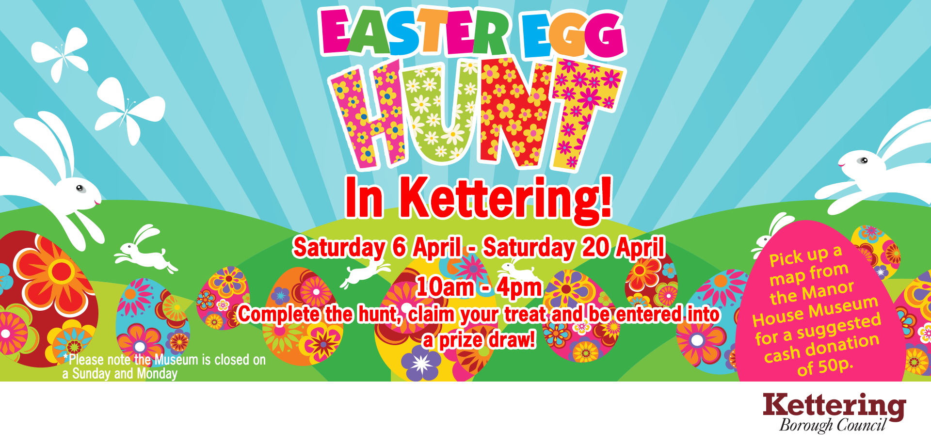 Easter Egg Hunt in Kettering Town - This Is Kettering - The official visitor website for Kettering