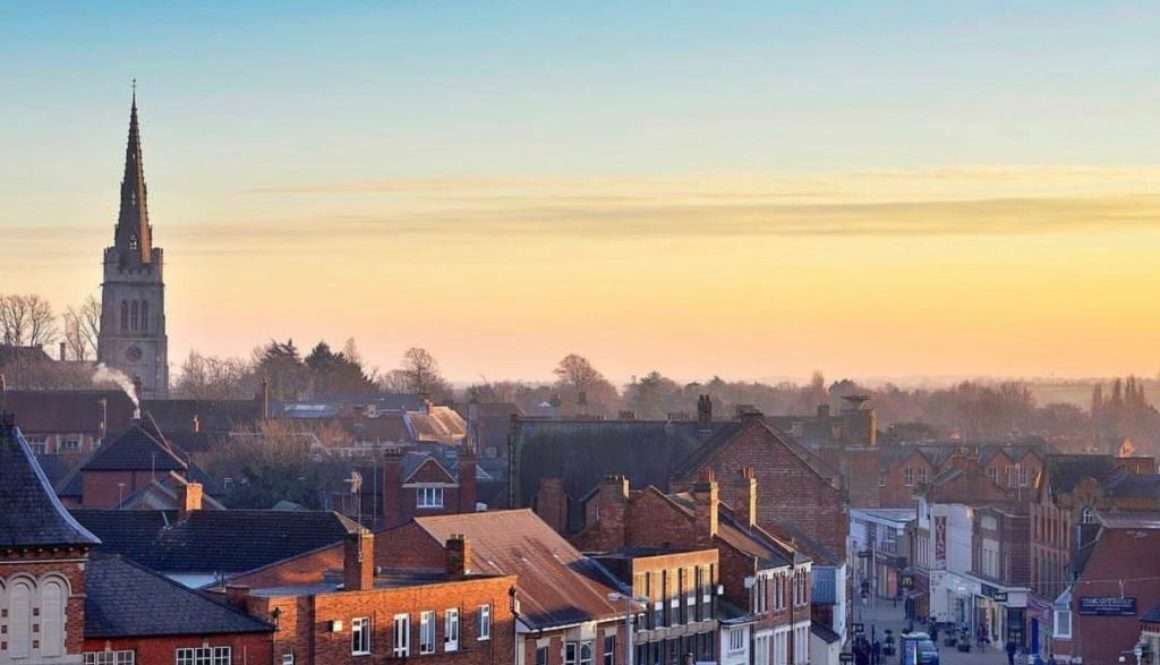 Kettering Town Centre Sunset