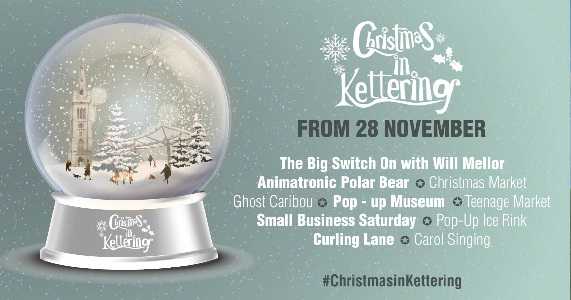 Will Mellor to switch on the town's lights as Christmas in Kettering is announced!