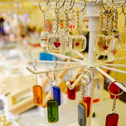 Visit market stalls