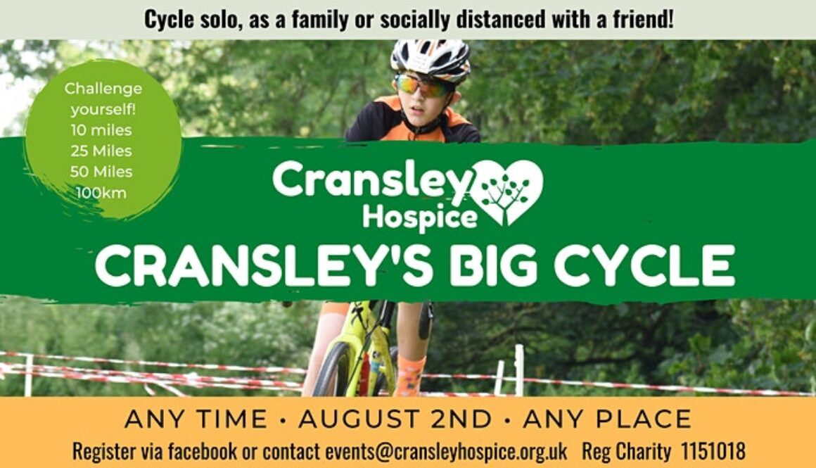 Cransley Hospice BIG Cycle Event